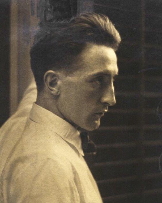Marcel Duchamp in New York, 1917,by Edward Steichen.