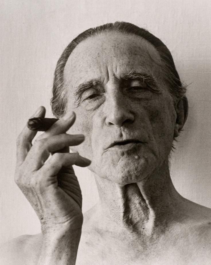 Marcel Duchamp, 1961, by Christer Strömholm.