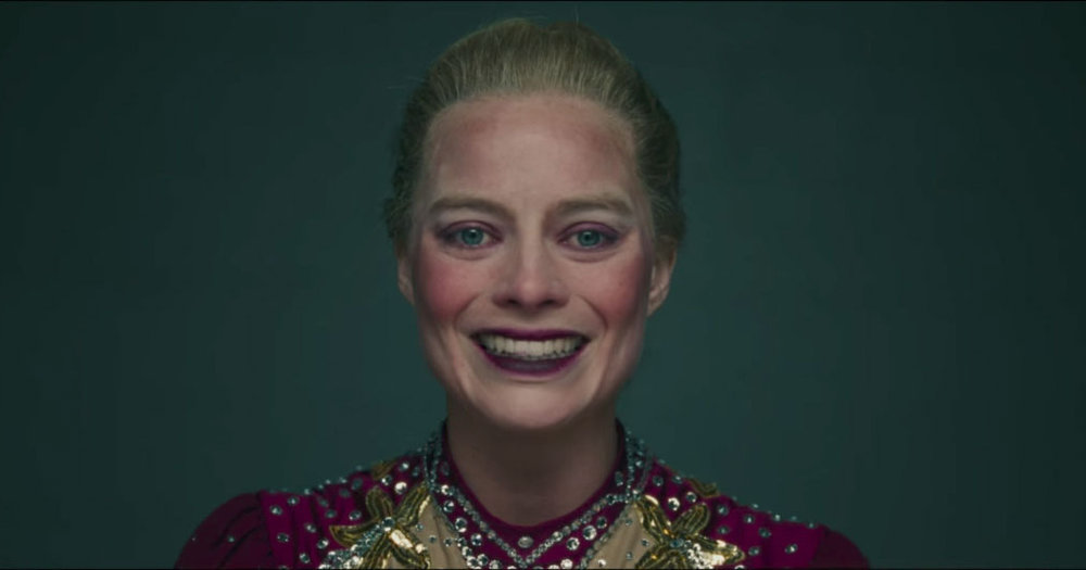Margot Robbie as Tonya Harding in the biopic  I, Tonya  (2018).