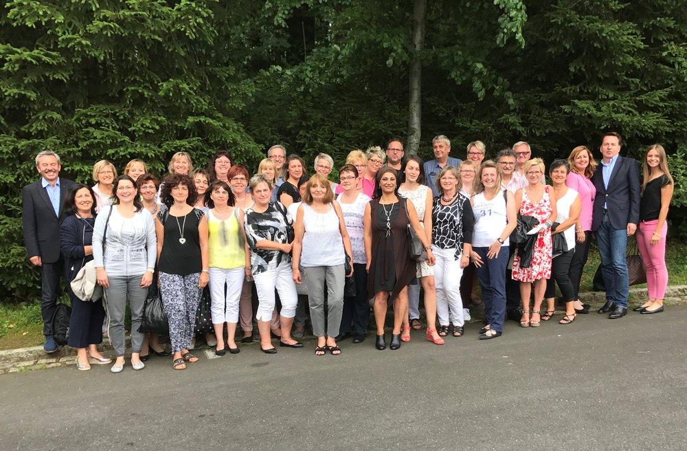 Faber Team beim Ausflug zum 70-jährigen Jubiläum zu den Festspielen auf die Luisenburg