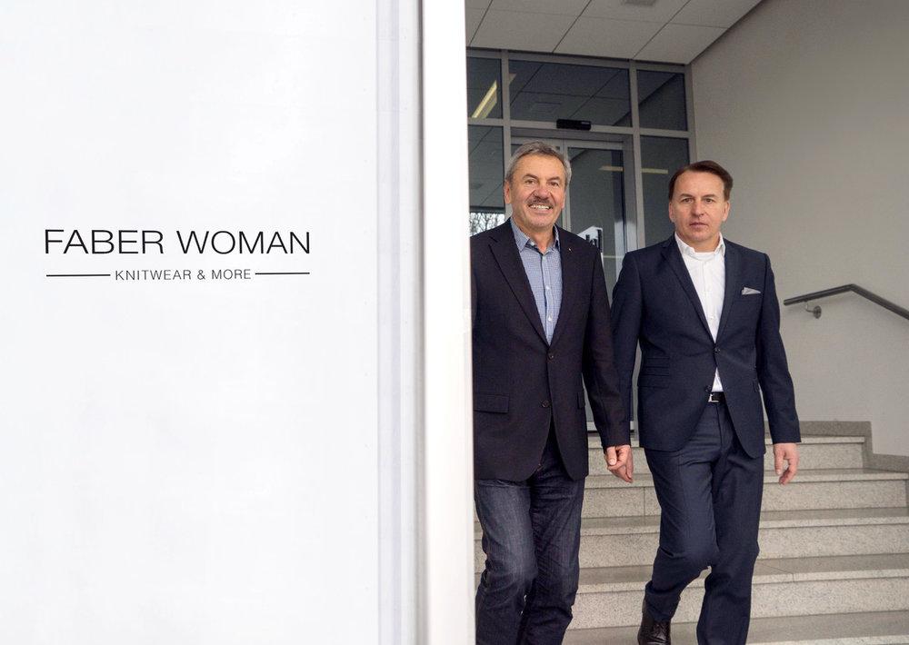 Faber Geschäftsführung Walter und Markus Faber