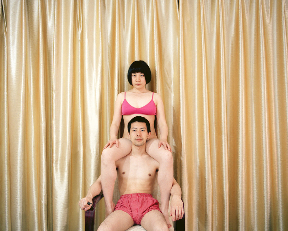 Pixy Liao,  The King Under Me  (2011), from the series  Experimental Relationship , courtesy of the artist