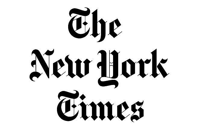 """2018/12/14 The New York Times: """"Their Art Raised Questions About Technology. Chinese Censors Had Their Own Answer.""""《中国的艺术提出了有关科技的问题,中国的审查机构有自己的答案。》"""