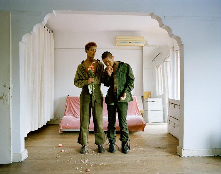 """Portfolio photo """"A nous la mode"""" - Images de l'exposition commentées par les artistes"""