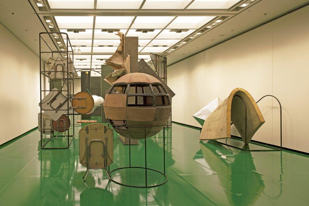 Liu Wei, exposition  Green Land  à Aichi Triennale, Japon, 2016