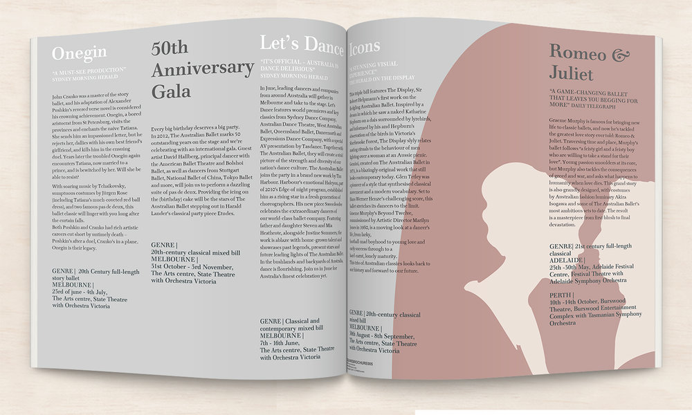 sarah ashlyn graphic design magazing brochure layout designer