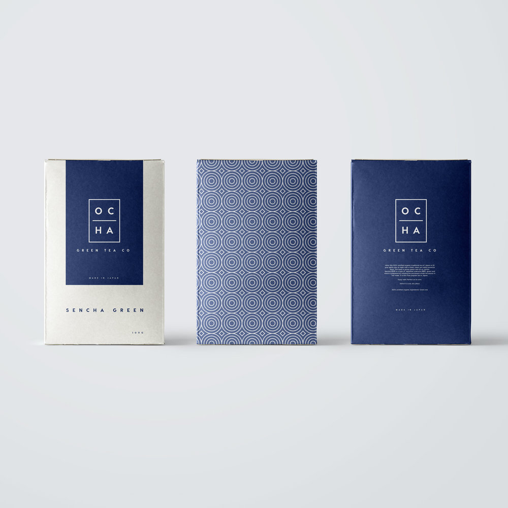 Ocha Tea | Branding and Packaging