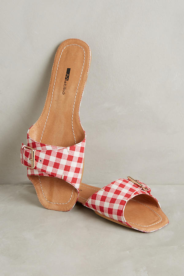Matiko Glide Slide Sandals | Anthropologie $98
