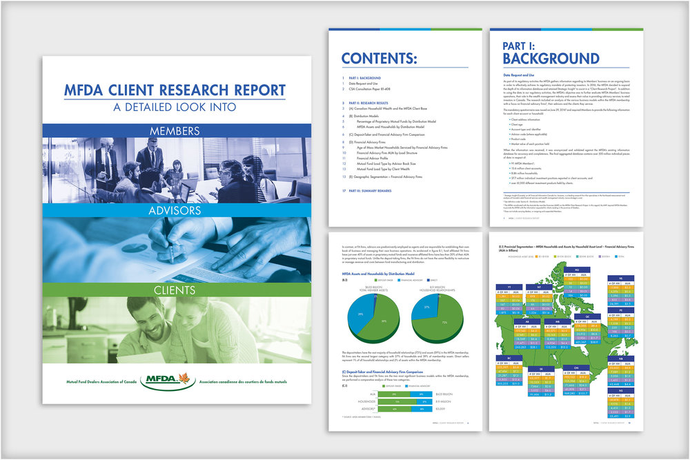 Mutual Fund Dealers Association of Canada - Client Research Report booklet