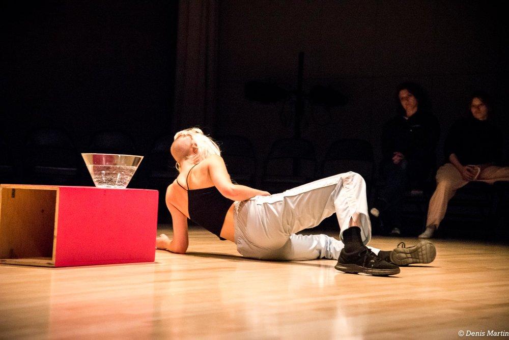 Dress Rehearsal at Tangente Danse, 2017.Photo: Denis Martin