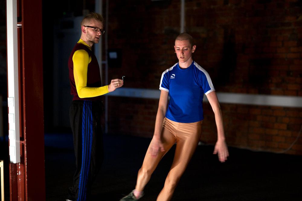 Bend It, Yorkshire Dance, 2016. Photo: Sara Teresa