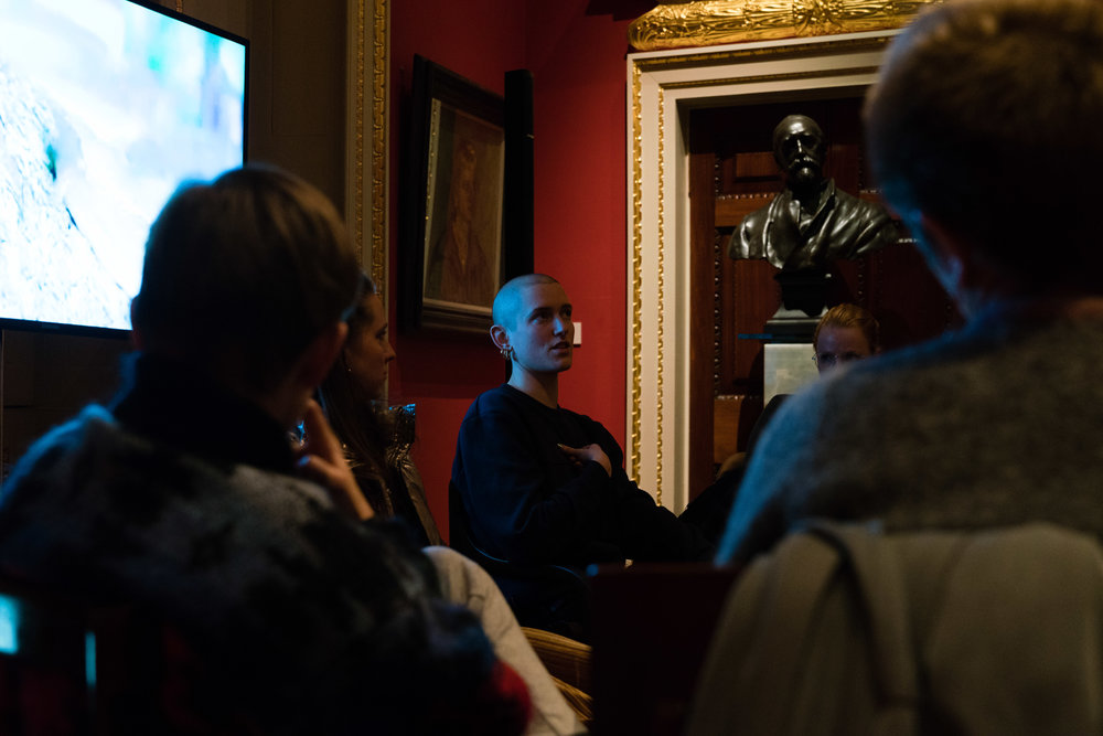 Roundtable at The Royal Academy of Art, Nov 2017. Image by Anne Tetzlaff.