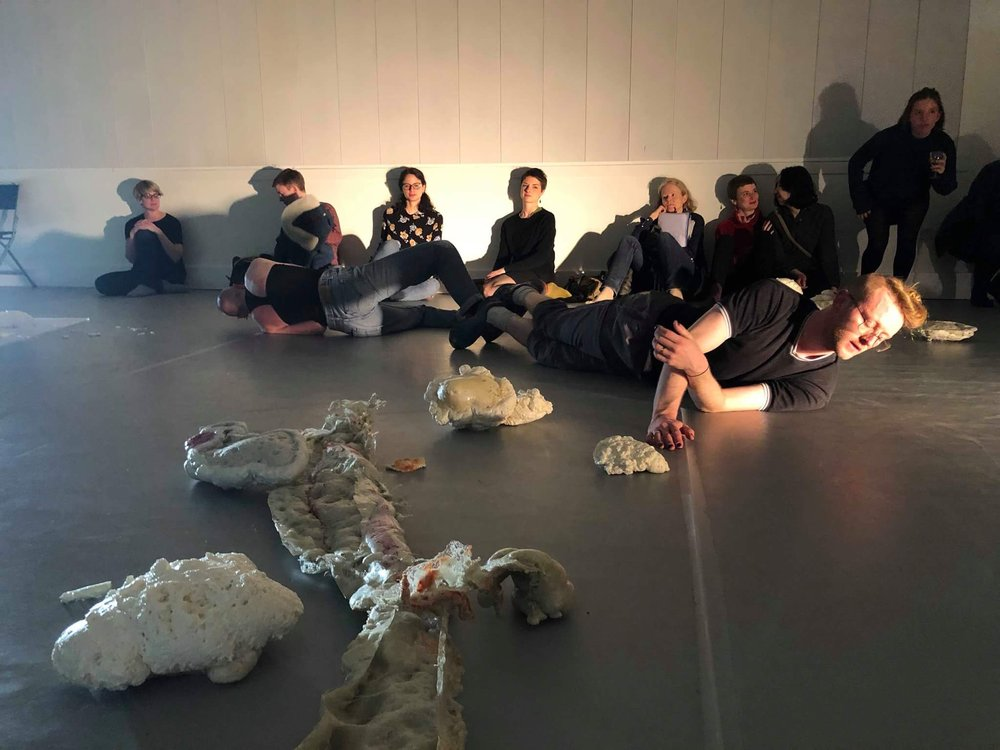 Open Choreography Performance Event, Siobhan Davies Dance, 2018.