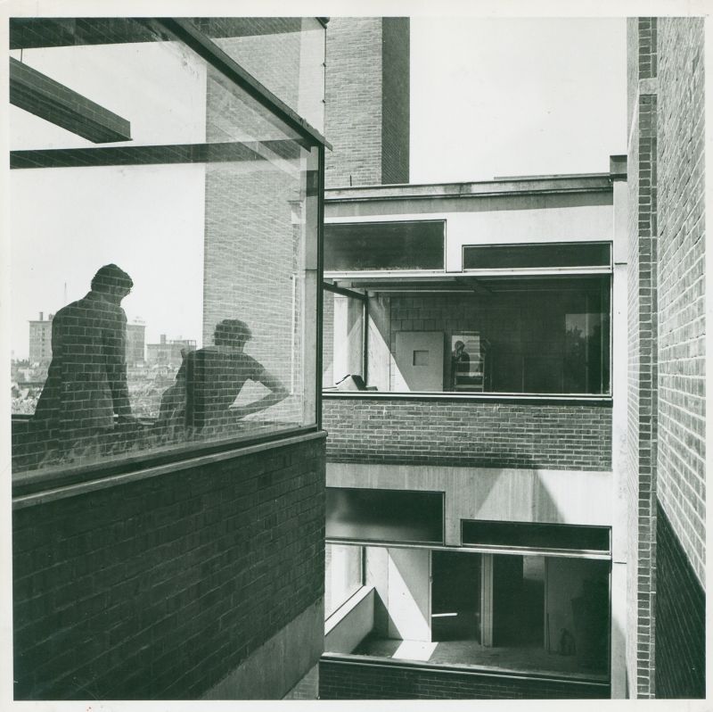 Louis I. Kahn Collection, University of Pennsylvania and Pennsylvania Historical and Museum Commission. Photo by Mildred Schmertz.030.IV.A.490.8.1.