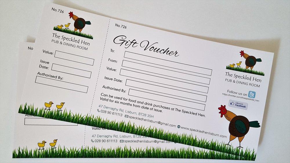 Gift Vouchers Store -