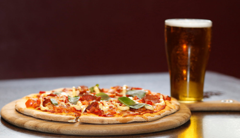 Saturday Pizza & Pint -