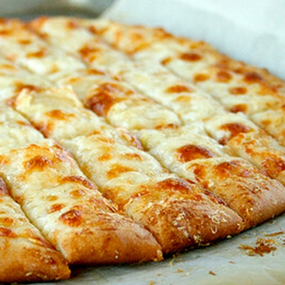 Garlic and Cheese Pizza Bread - 7