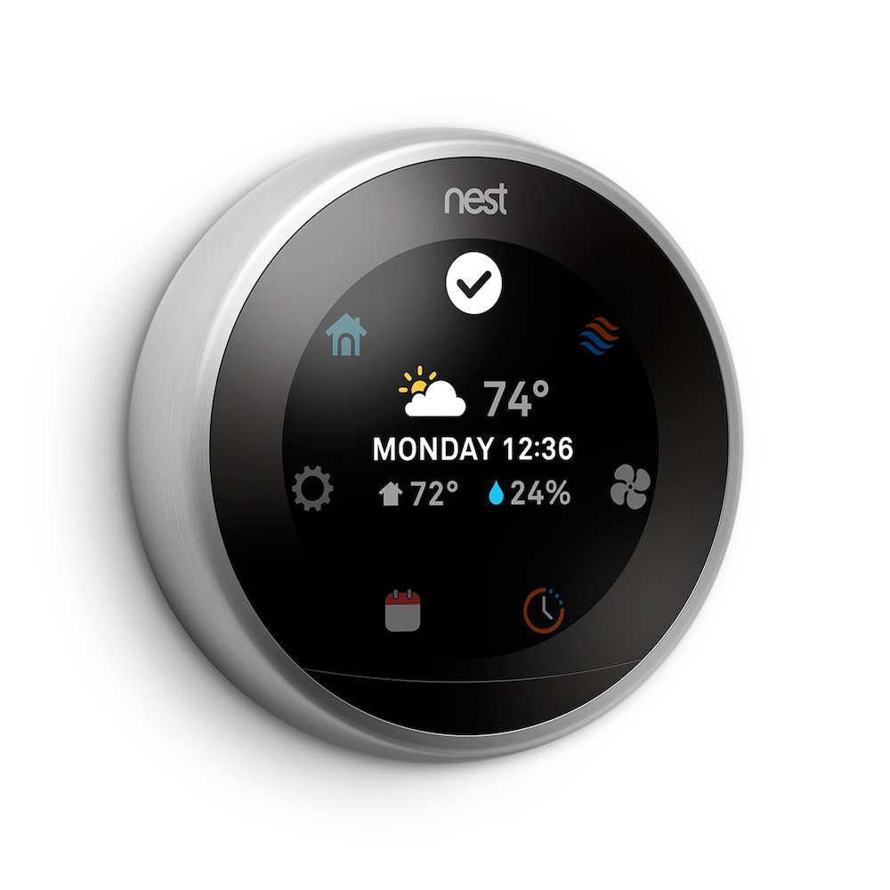 YOUR SCHEDULE.YOUR TEMPERATURE. - NEST learns your habits and schedules your ideal temperature making it even easier to save on energy.