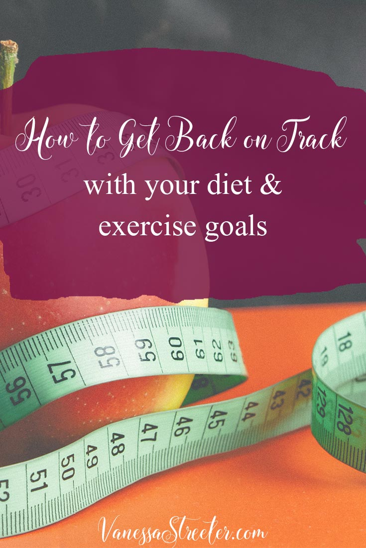 Have you given up on your diet and exercise goals? Have you found that your goals were too hard to maintain? Or have you been successful but defaulted back to old patterns? Think there's no use in trying? It's normal. Don't use it as a sign saying to give up.