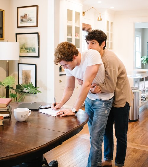 What It's Been Like Working Together From Home -