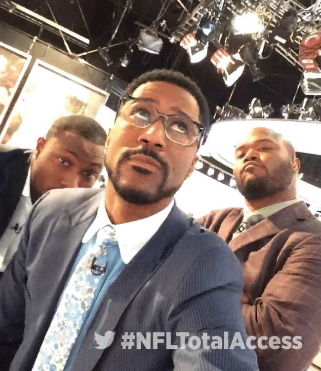 Product Placement - Nate Burleson in a Sir Wylde necktie...not bad. Over the weeks the collaboration resulted in maybe 10+ different social media mentions by professional players. Read more about it here.