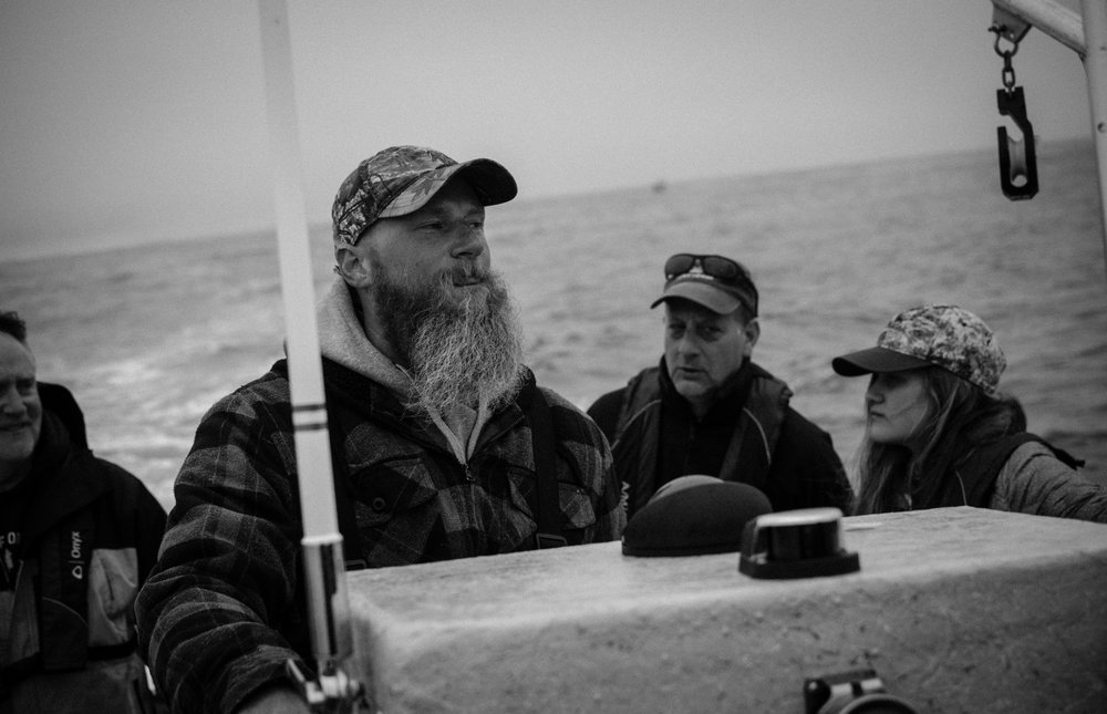 Fishing about a mile off the shores of Pacific City was definitely a rewarding experience. Although my Uncle Greg is an avid fisherman, he doesn't have access to a deep water boat. Consequently, we booked a guide as pictured here.