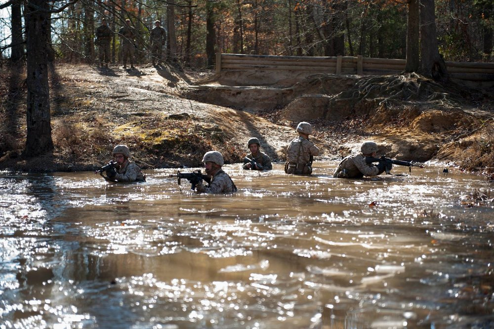 Endurance Course at Officer Candidate School