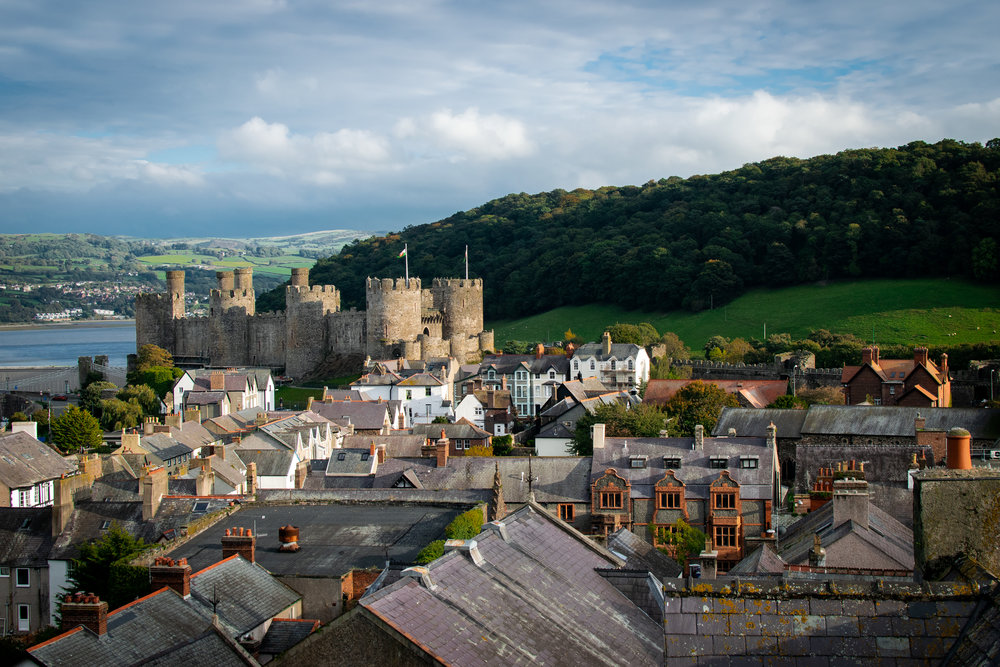 This photo doesn't exactly relate to the following blog, but I took it in Conwy Wales and liked it.