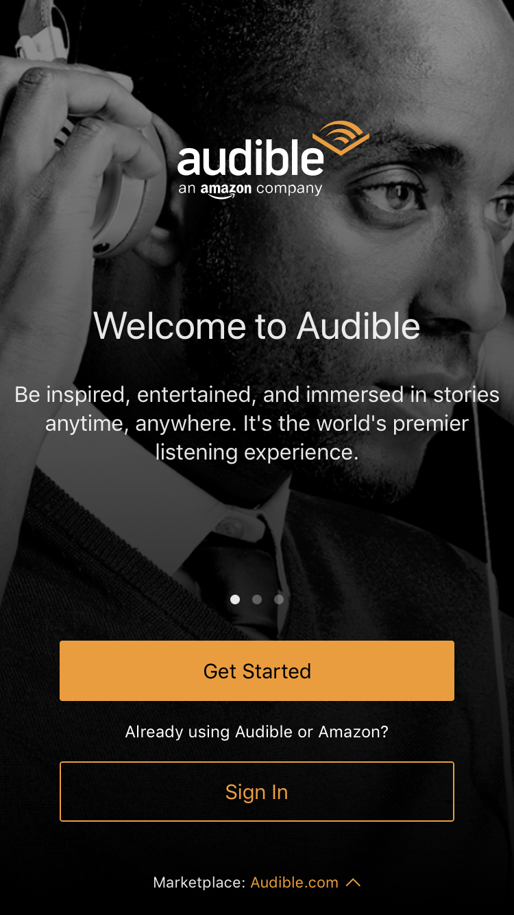 I try to listen to one book a week. Sign up to Audible with this link -  HERE  - and get a free month.
