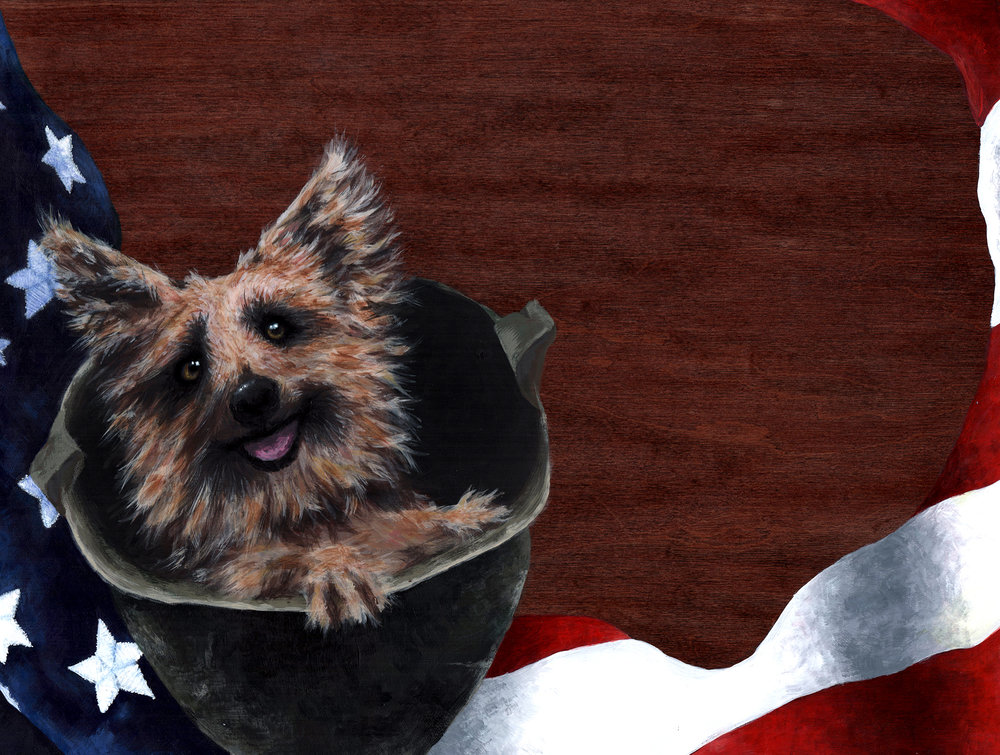 """Smokey the War Dog"" - AVAILABLE"