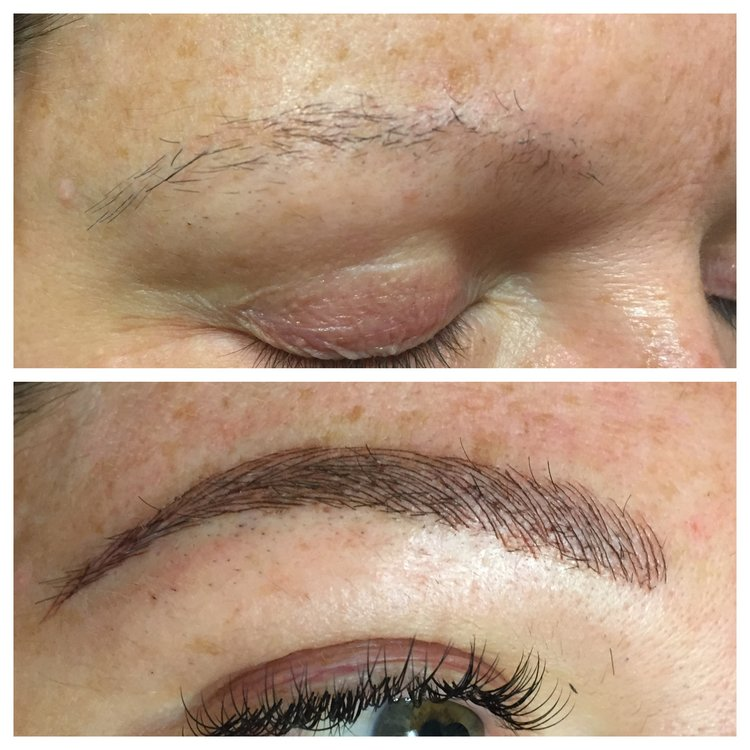 microblading, brows, semi permanate brows, tattoo eyebrows, eyebrow tattoo, eyebrows, before and after brows, new york brows, amy kendall.jpg