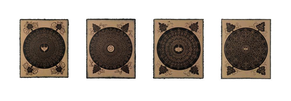 Richard Gabriele's Copy of Albrecht Dürer's Copy of Leonardo da Vinci's Copy of Knots: Inside Joke for Ananda K. Coomaraswamy