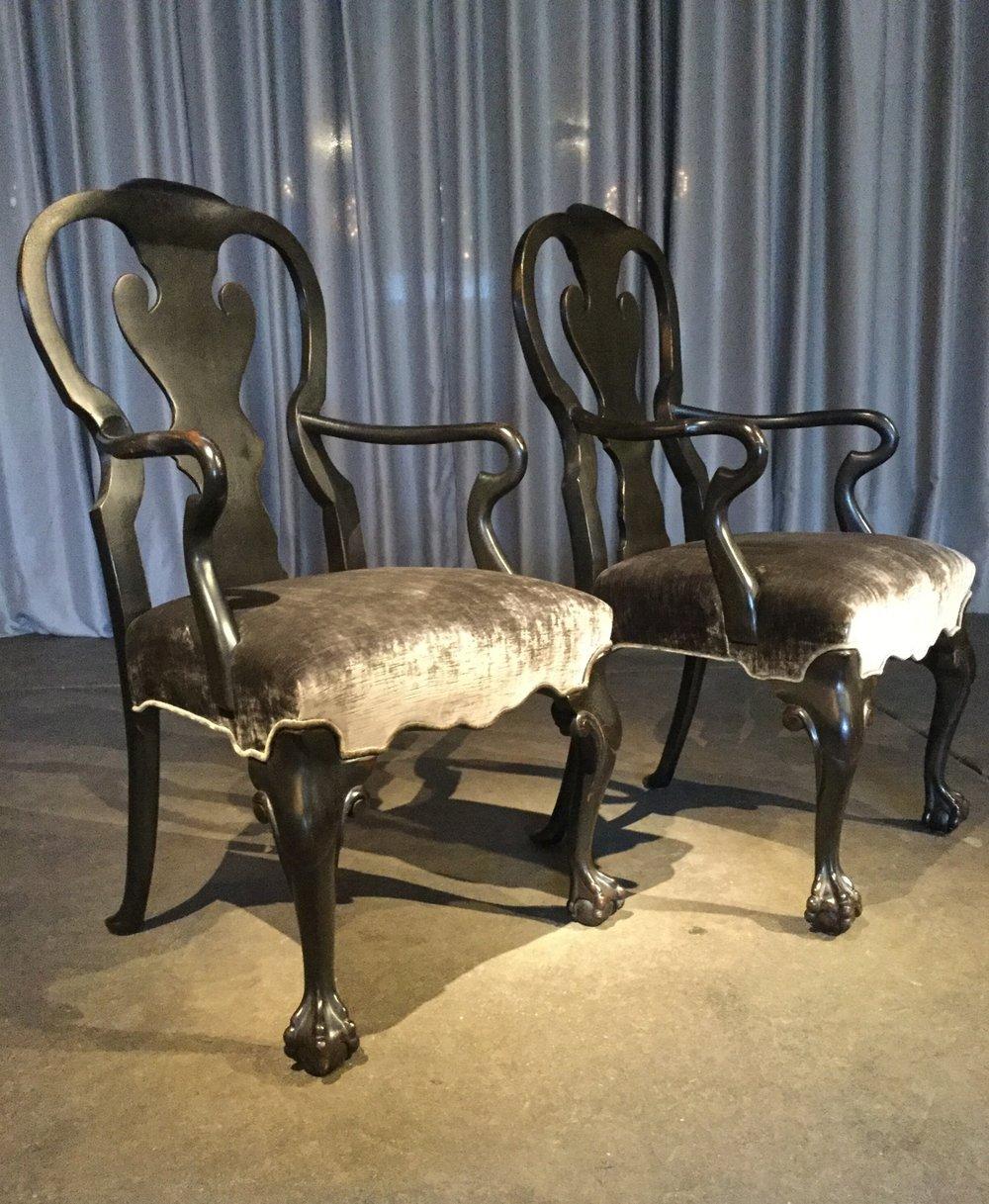 Host & Hostess Chairs, $2,800.00 pair