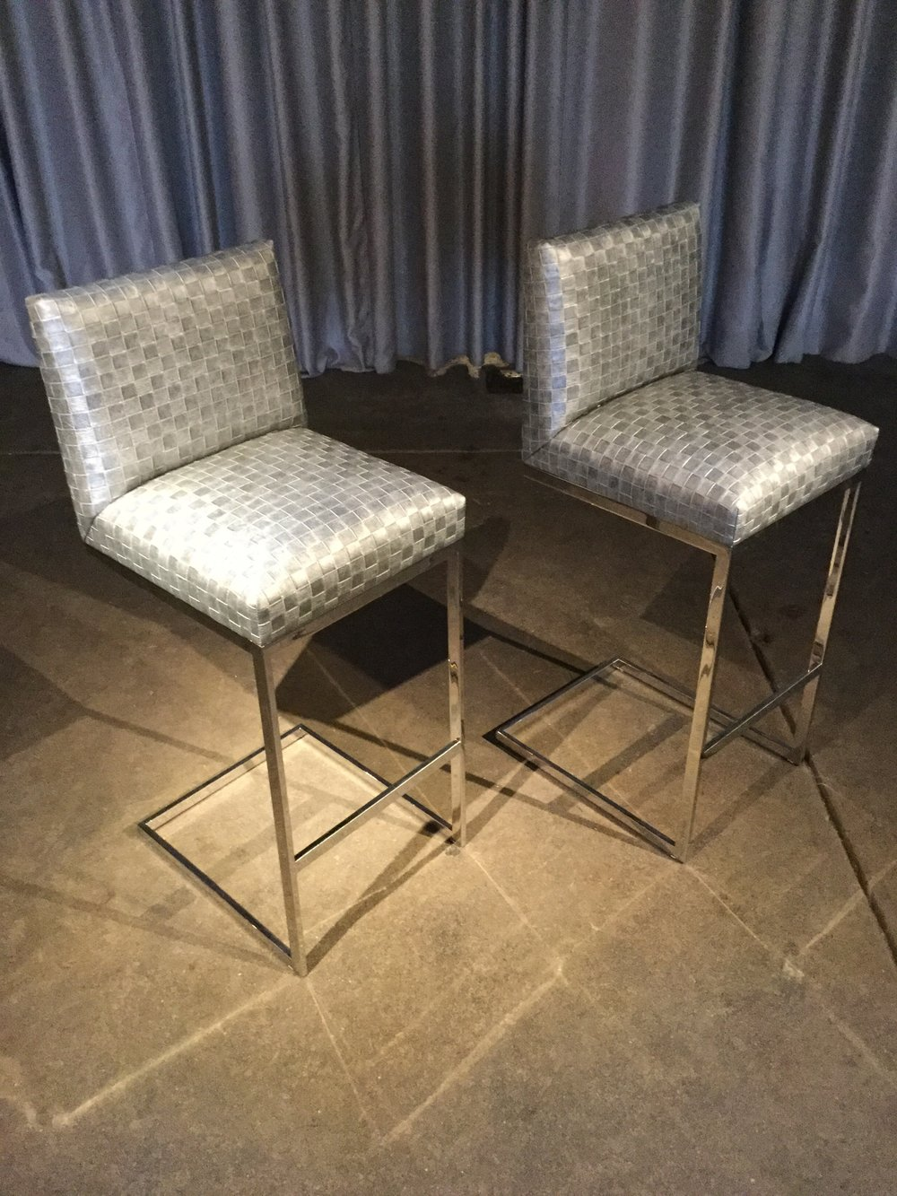Brueton Barstools $1,500.00 pair