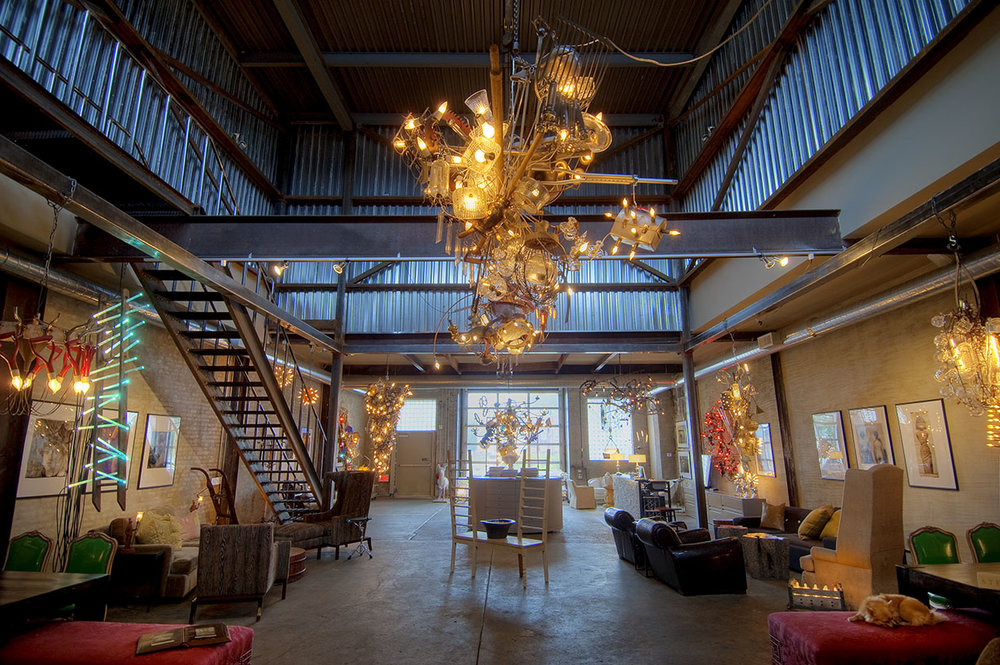 Bahdeebahdu could be called a studio or a gallery, but it's a space that defies those definitions. RJ Thornburg and Warren Muller have crafted an inviting and inspiring environment in the neighborhood of Kensington, Philadelphia.