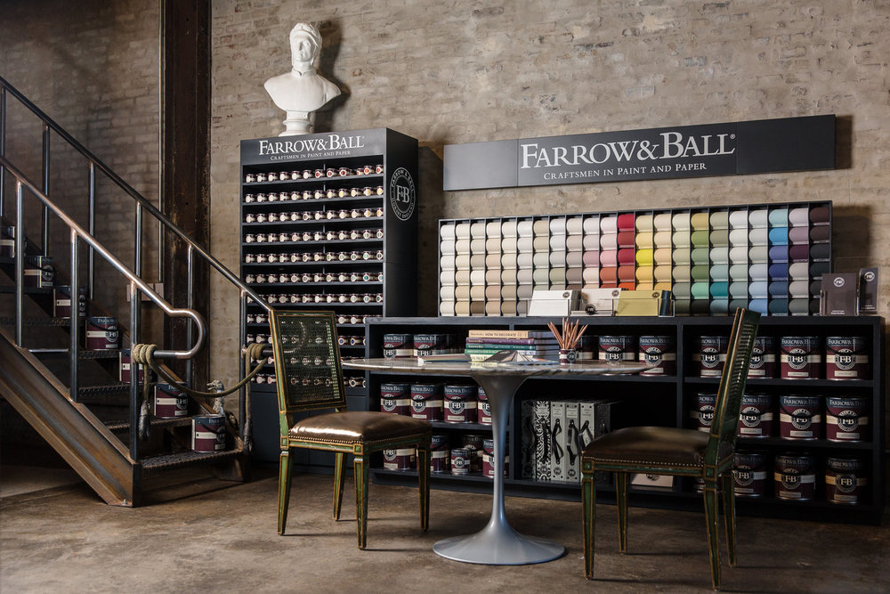 The only stockist of Farrow & Ball in Philadelphia