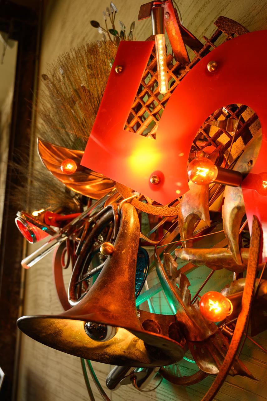 Explore more - of Warren's Light Sculptures