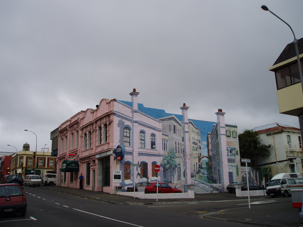 Mural in Wellington.