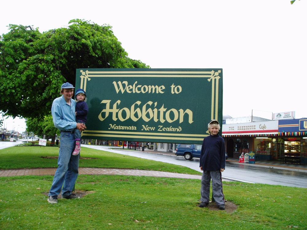 Hobbiton, aka Matamata.