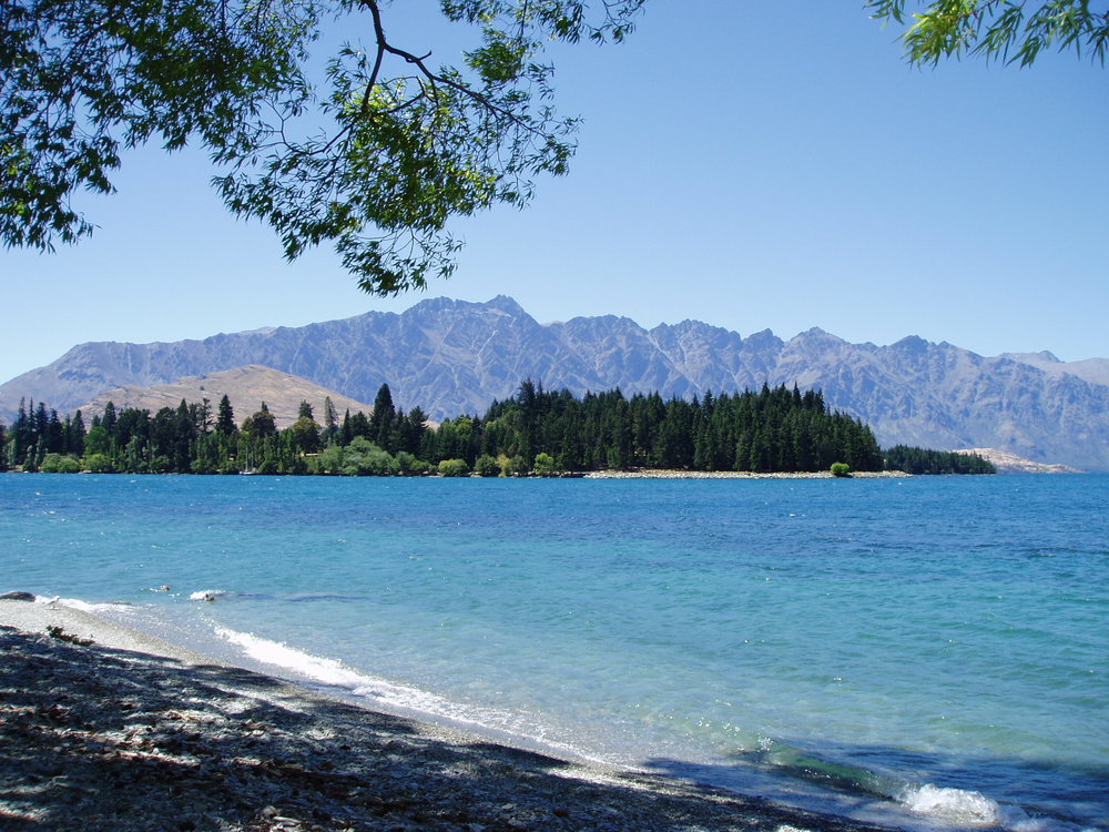 The Remarkables mountain range.