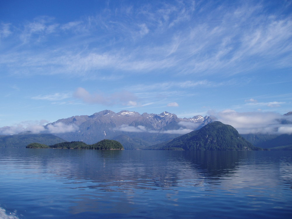 Lake Manapouri, Doubtful Sound trip.
