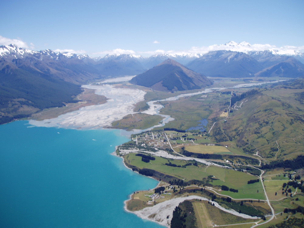 Glenorchy from the Air