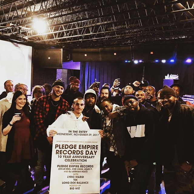 I want to say thank you to everyone who came out last night to help celebrate our 10 Year Anniversary. Thank you for all the support and love over the years. Today is the start of the next 10 Years. Salute to you.  Pledge Empire Records | The Pledge Party Team