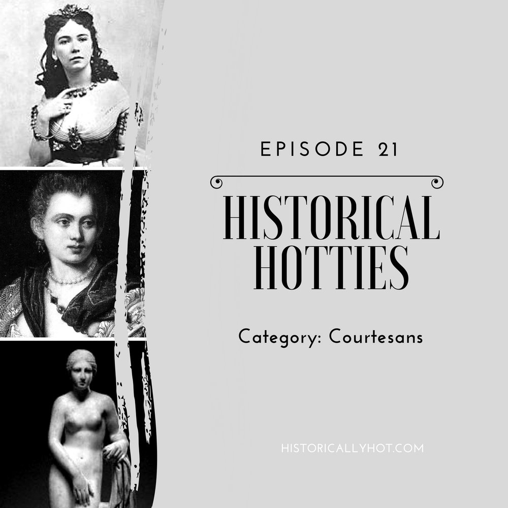 historical hotties courtesans