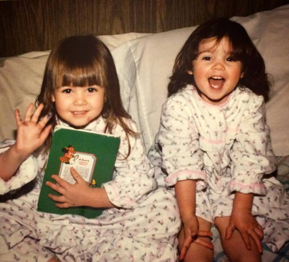 Whitney and Lindsey Nelsen in Jimjams