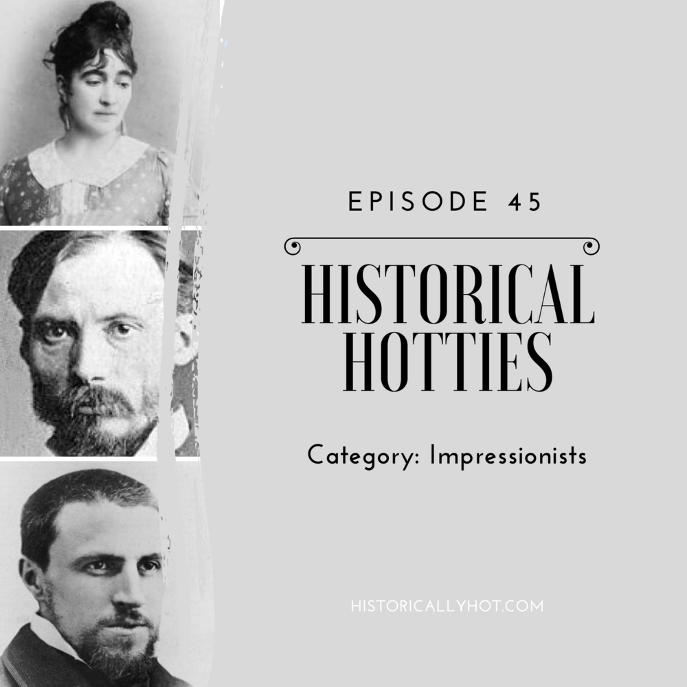 historical hotties impressionists
