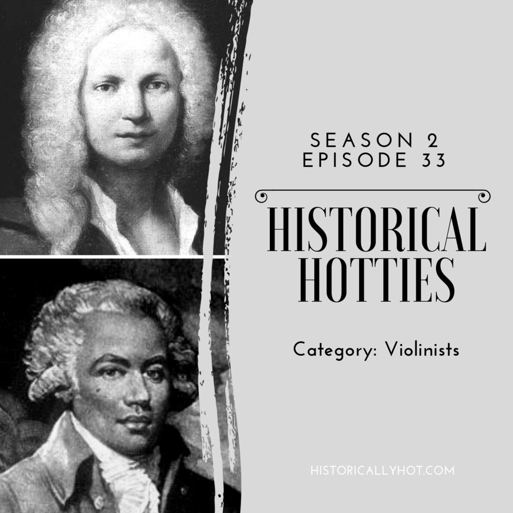 historical hotties violinist