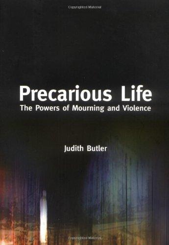 Judith Butler's Precarious Life