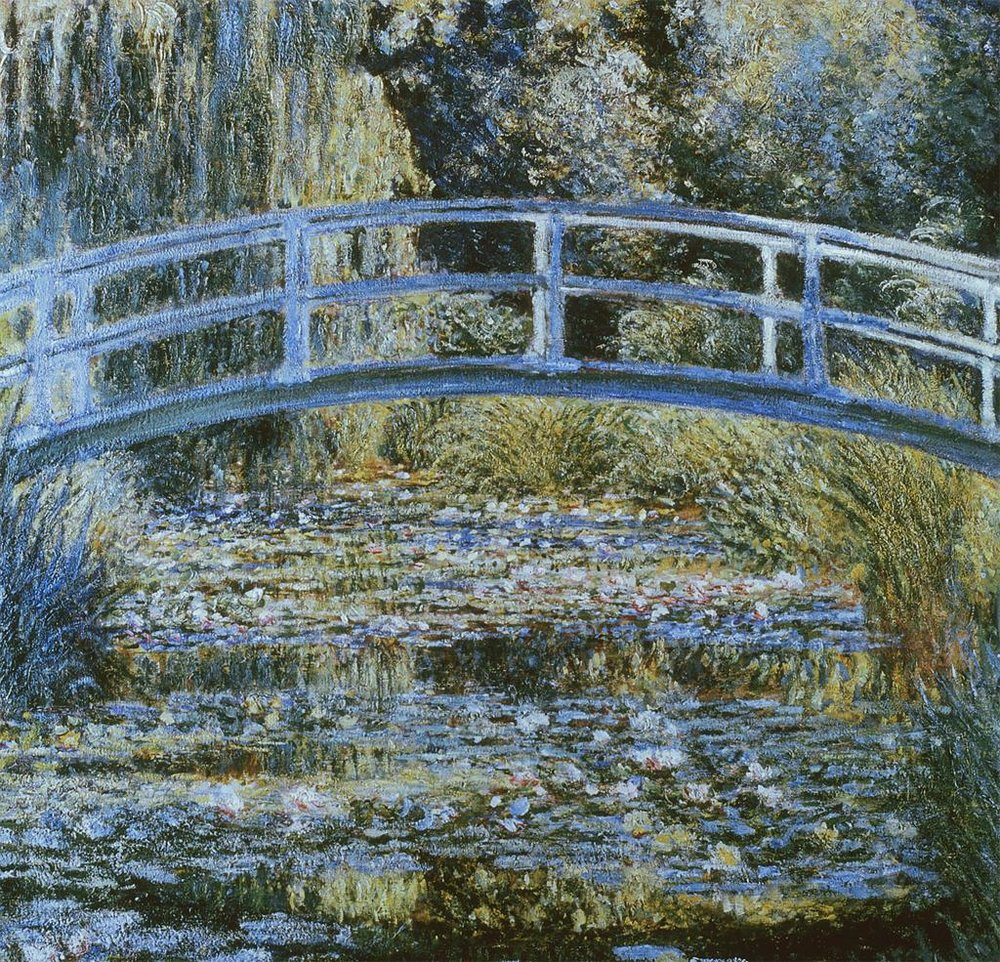 MonetWaterLilyPond1899