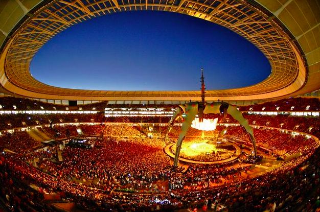 U2 360 in Cape Town